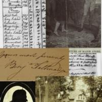 Collage of Images related to the Culper Spy Ring and Benedict Arnold's Treason