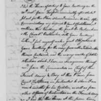 Benjamin Tallmadge to George Washington, April 24, 1781